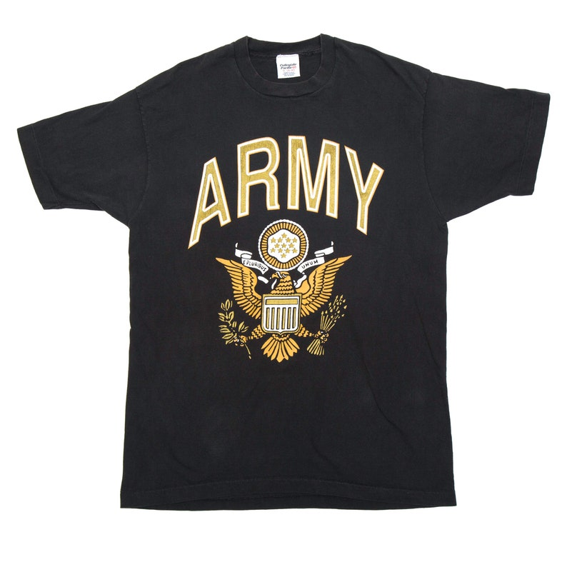 Vintage Army T Shirt by Collegiate Pacific  XL image 0
