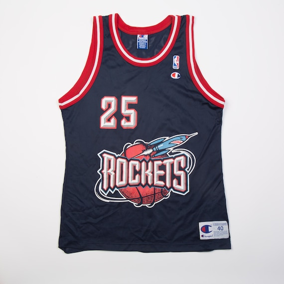 free shipping 61d6d d523f VTG Robert Horry Houston Rockets Champion Jersey | SZ 40