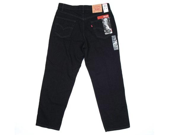 VTG Levi's 550 Black Denim Jeans | 36 x 30 | NWT