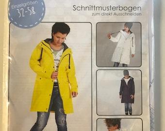 Mantel aus filz nahen