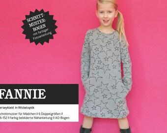 Pattern Fannie cut ripe sweat dress girl