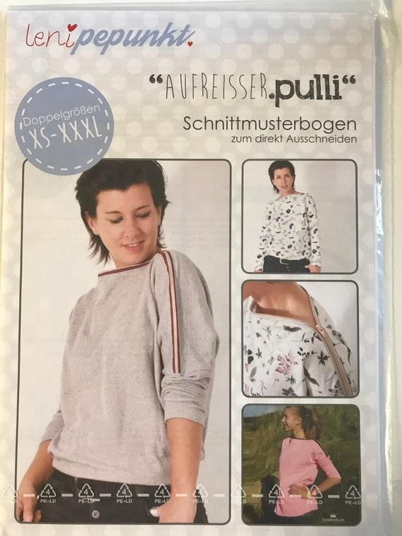 Pattern Aufreisser Sweater Leni Pepunkt #102 paper cut pattern