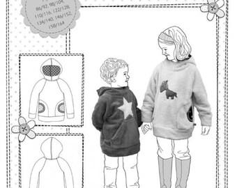 Pattern Danai Farbenmix Hooded Sweatshirt Hoodie