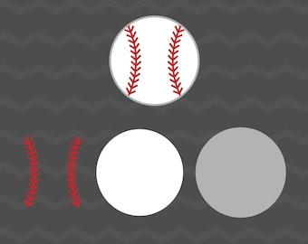 Baseball SVG - Baseball SVG for Cricut, Silhouette, Laser Cutter, etc.