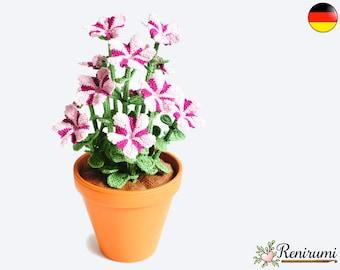 Häkelanleitung Orchidee Renirumi Etsy