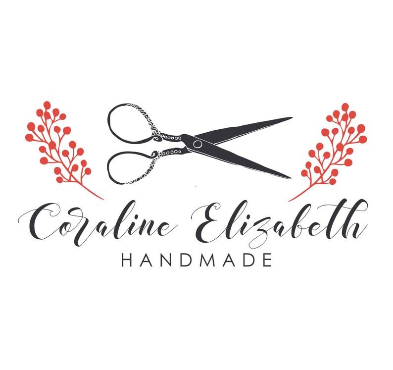 Premade Logo Design Business Logo Craft Logo Handmade Etsy