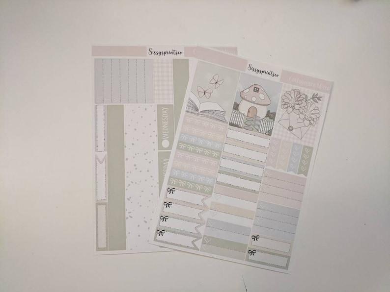 Two dollar Tuesday stickerscottagecore micro kit