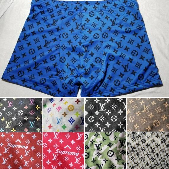 a26f5183b743f Designer inspired Louis vuitton men's swim trunks shorts. | Etsy