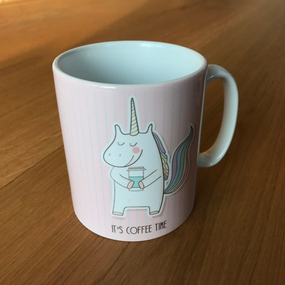 "Unicorn Cup ""Its coffee Time"""