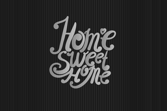 "Floor mat, shoe kicker ""Home Sweet Home"" 40x60"