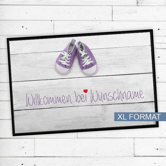 Baby Mat with name or text personalized
