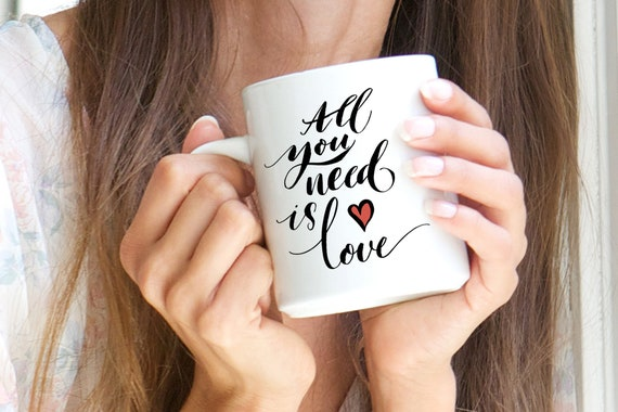 "Mug ""All you Need Is Love"""