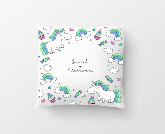 "Pillow Unicorn ""Sweet Unikorn"""
