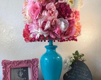 d03cfa6a48fd7 Little Fuchsia Lamp Home Decor Handmade Living Art Crafts | Etsy