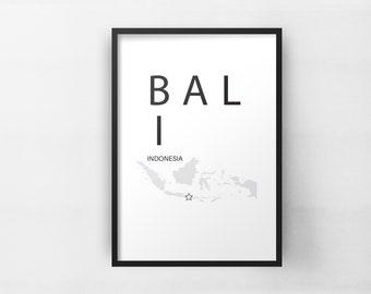 Bali Poster Indonesia Poster Minimalist Wall Art Print Living Room Wall Decor Bali Art Minimalist Poster Travel Poster  sc 1 st  Etsy & Indonesia wall art | Etsy