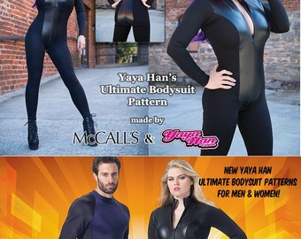 34bab34fa2 McCall s YAYA HAN Bodysuits Cosplay Costume Sewing Patterns (Choice of  Mens Misses Plus) New Uncut