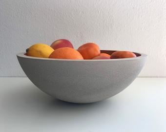 Concrete bowl 27 cm in desired colour