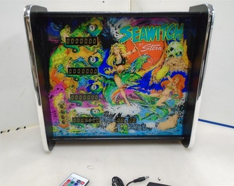 Williams Funhouse Pinball Head LED Display light box | Etsy