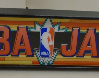 bdb2c24d0 NBA Jam Marquee Game Rec Room LED Display light box