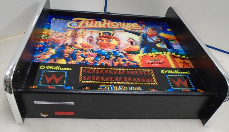 Williams Funhouse Pinball Head LED Display light box