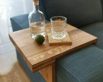 Sofa-Butler Flexible by Overwood Design 30 cm solid oak