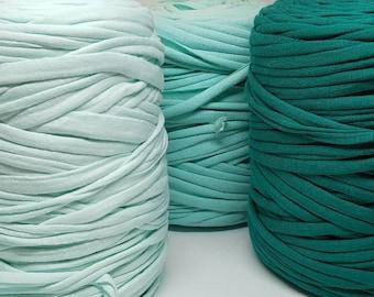 Taschen Rotes dünnes Textilgarn zum Häkeln//Stricken für Körbe,Teppiche