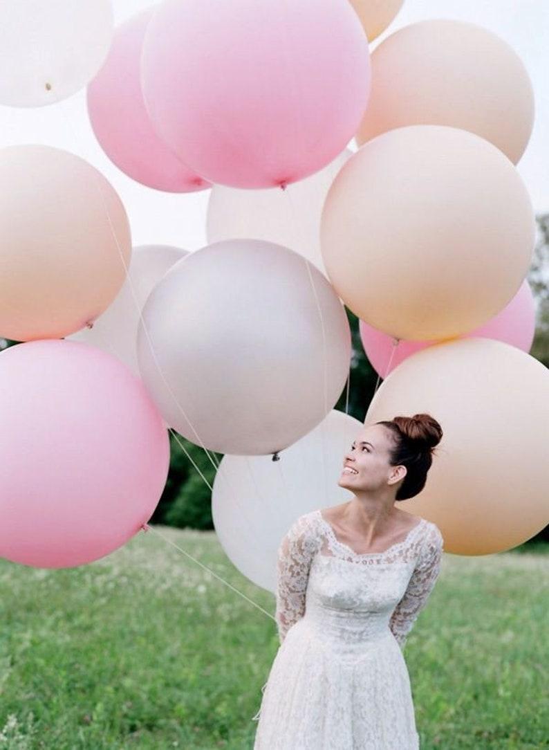 Riesenballons Hochzeit