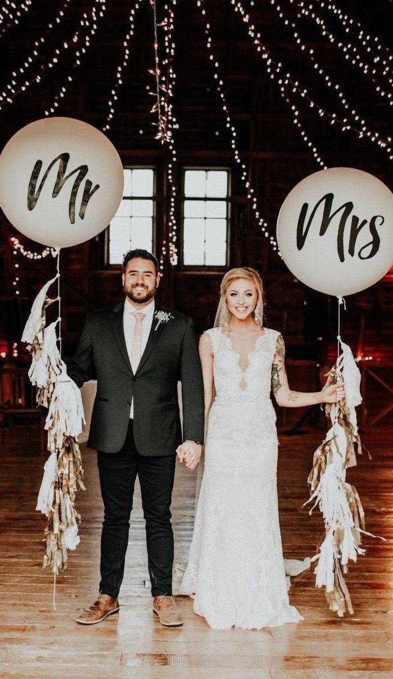 Luftballons Hochzeit