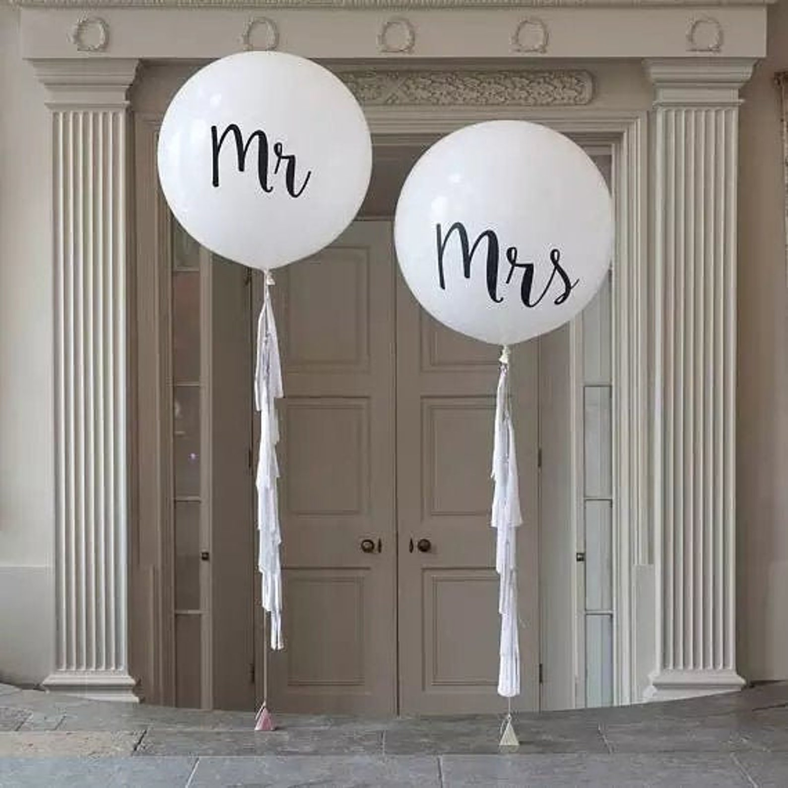 Riesenluftballons Hochzeit