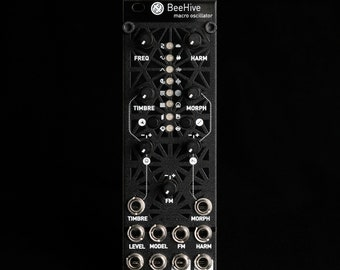uPlaits Beehive Micro Mutable Instruments Plaits Eurorack Synthesizer Module (Black Aluminum)