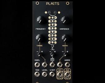 Mutable Instruments Plaits Eurorack Synth Oscillator Module (Oscillosaurus Black/Gold)