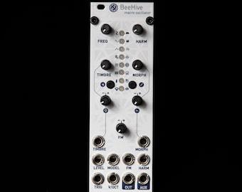 Beehive uPlaits Micro Mutable Instruments Plaits Eurorack Synthesizer Module (White Aluminum)