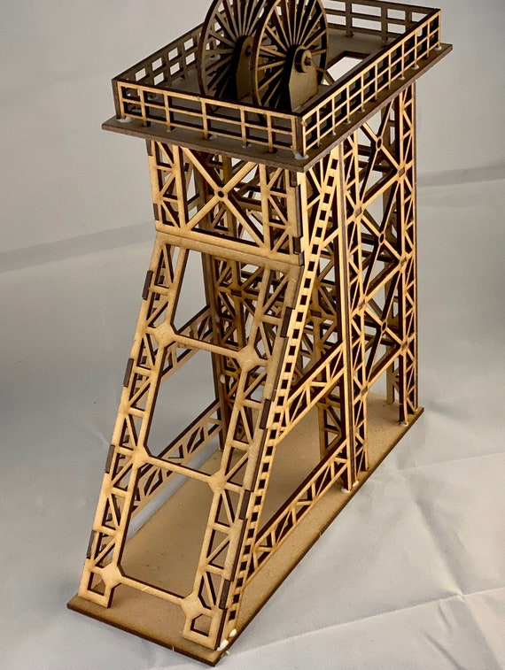 00 Colliery Pit Head