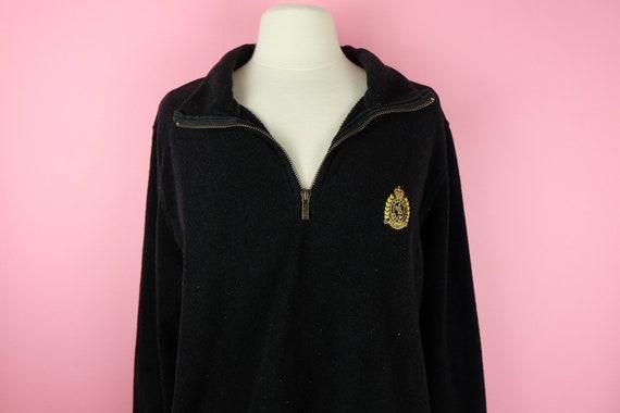 Vintage 1990s/2000s Ralph Lauren crest fleece swea