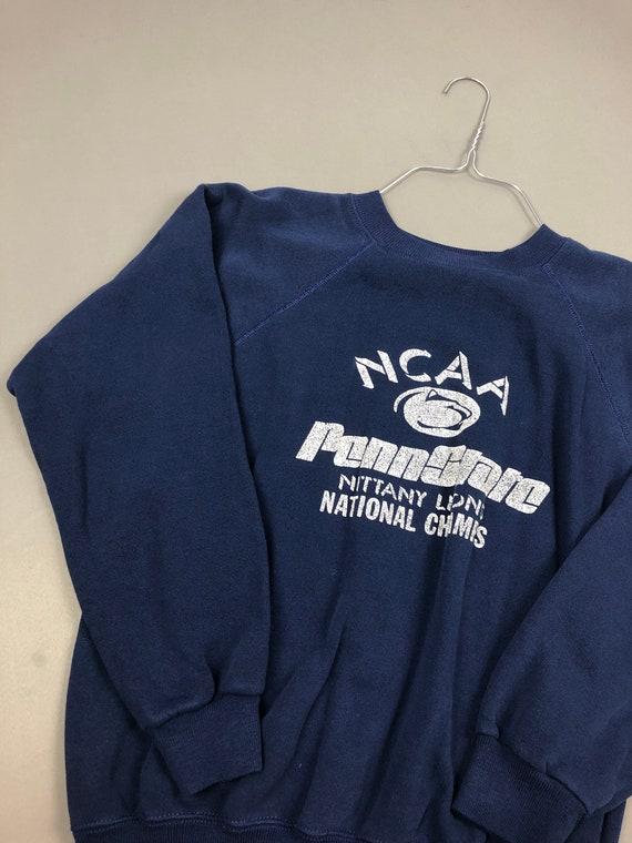 Vintage 80s Penn State University Nittany Lion 1980s NCAA College Sweatshirt vintage football pullover Big 10 college sweatshirt XL