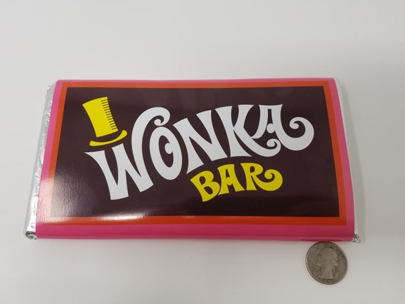 Willy Wonka Candy Wonka Bar Golden Ticket Replica Best Quality And Price