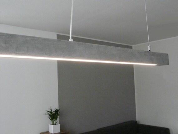 Beton Lampe xl leuchte beton lampe 180 cm | etsy