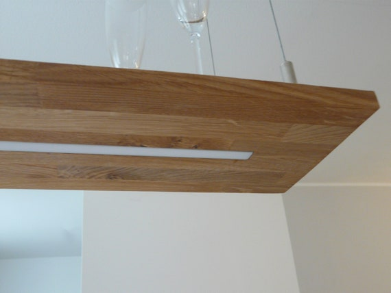 Hanglamp Oak Led Lamp With Dimming Etsy