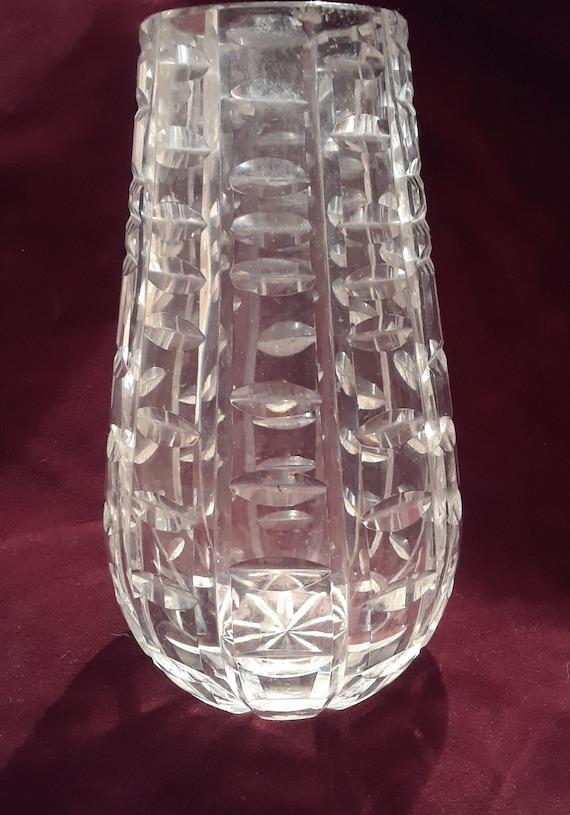 Waterford Crystal Tralee 7 Vase Etsy