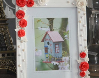 Picture frame, wedding frame, photo frame, gift Mother's Day gift