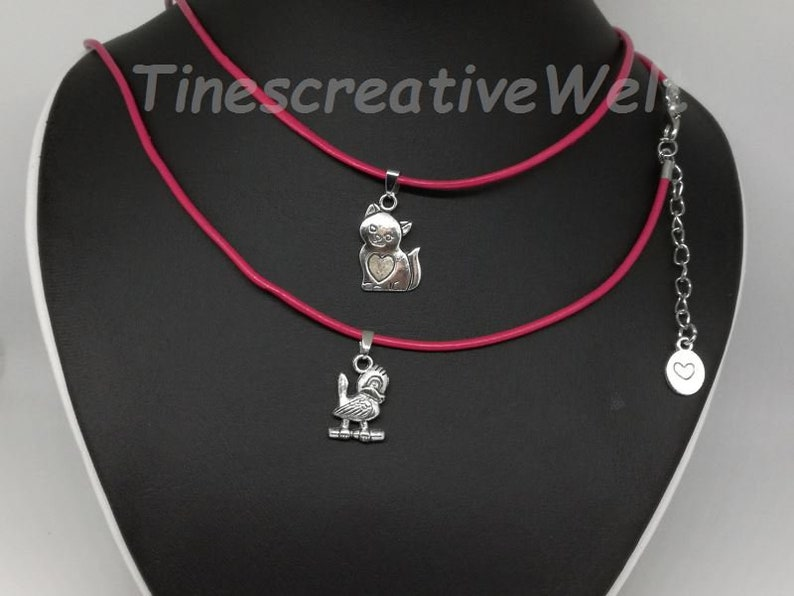 jewelry bird and silver ball gift bridal collectible Beautiful Double Strand Silver Necklace with heart