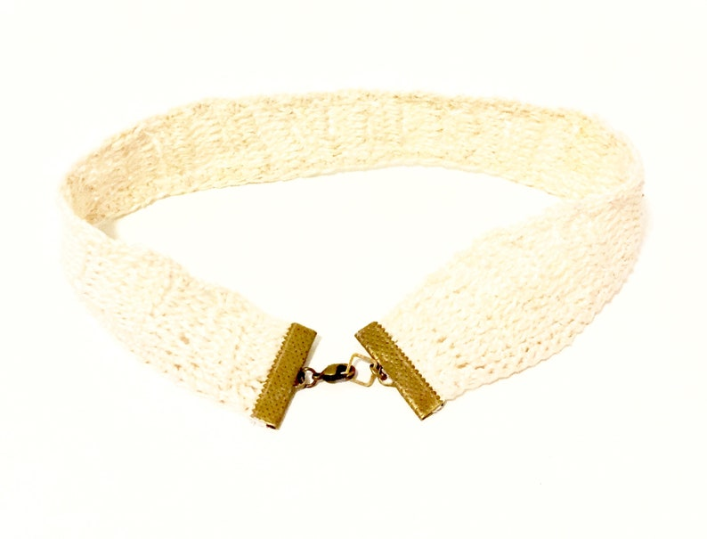 Artsy Style Boho Fashion Off-White Vintage Look Sophisticated Look Lace Necklace Country Chic Chic Style