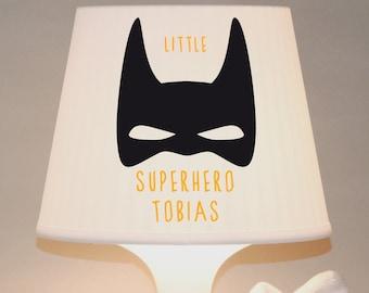 "Children's lamp, table lamp ""Superhero"" with name customizable"