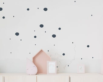 """Wall decal wall sticker """"dots"""" stains, small dots"""