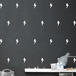 "Wall sticker ""Super hero flashes"" 4 sizes selectable"