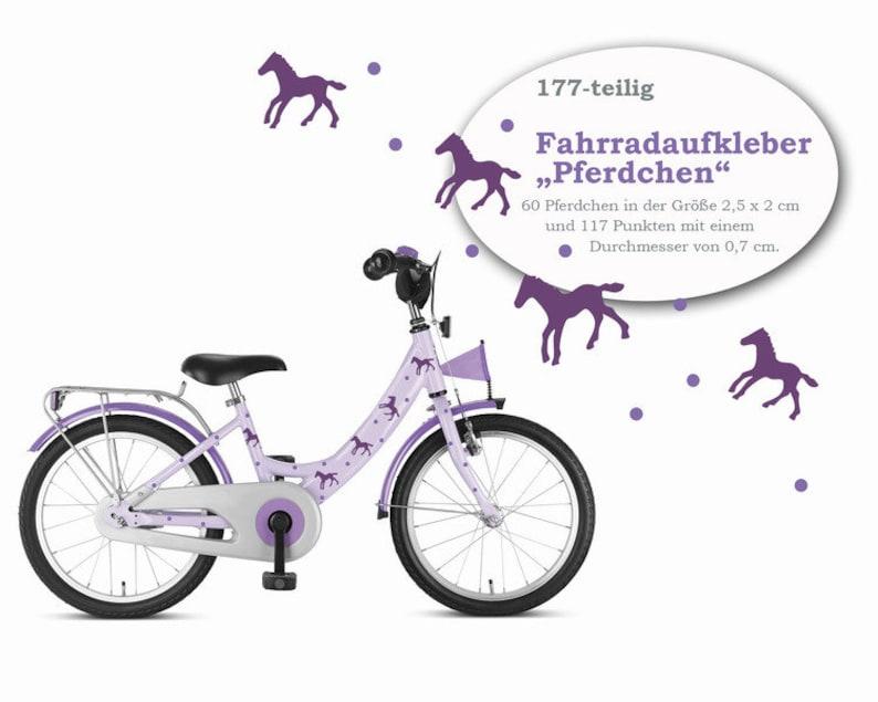 Bike sticker Pony 177-piece sticker tattoo image 0