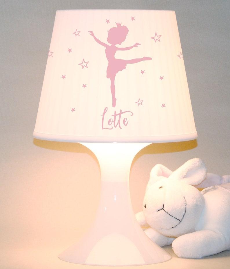 Children's lamp slumber lamp ballerina with image 0