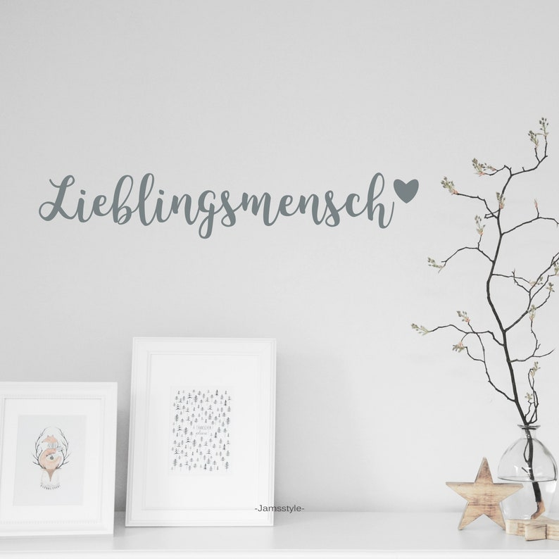 Wall tattoo wall sticker favorite person size image 0