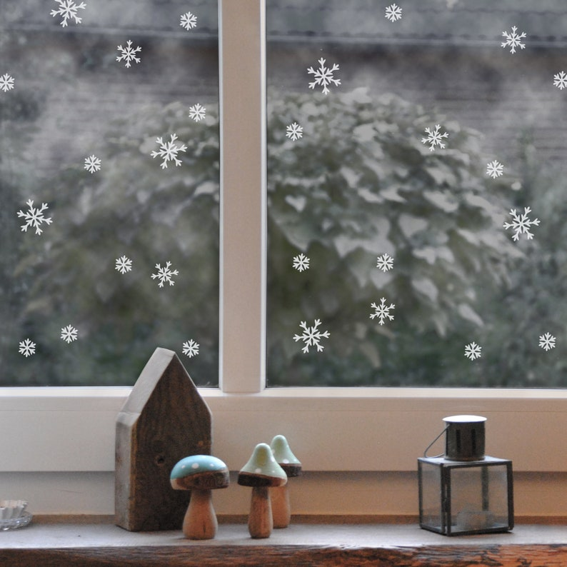 Window sticker ice crystals 3 sizes 63 image 0