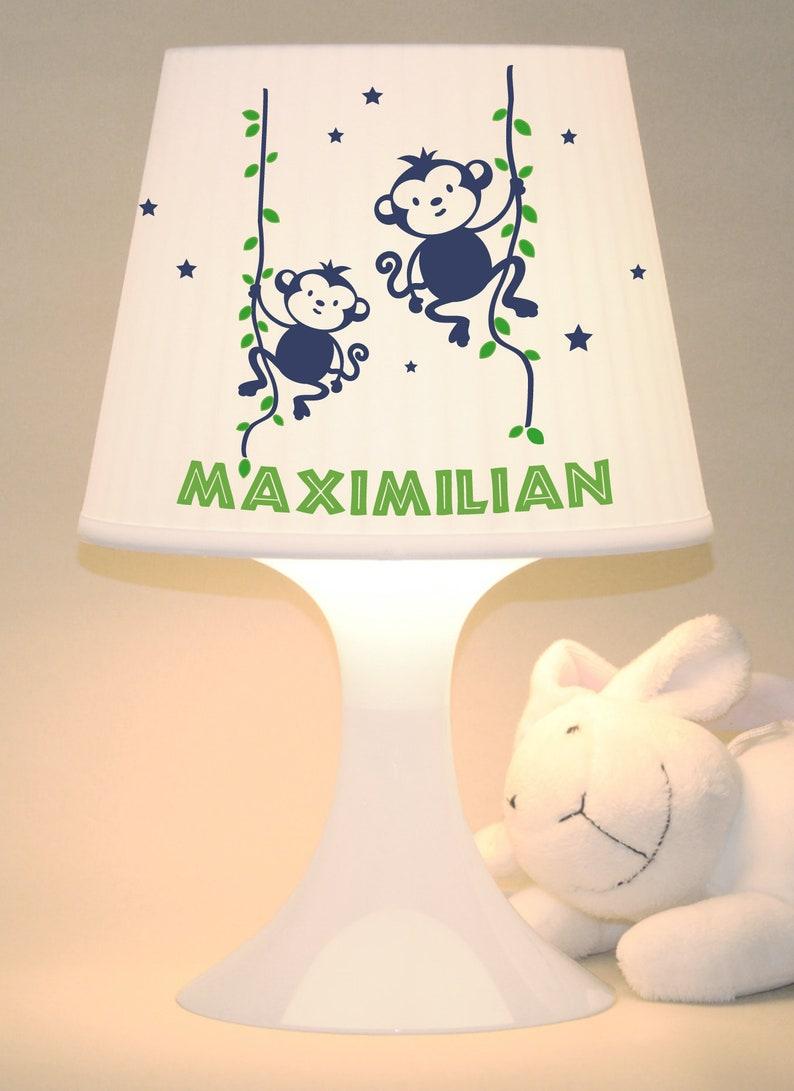 Children's lamp table lamp Monkey image 0